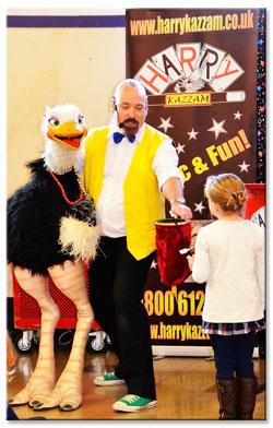 Harry Kazzam, Children's Magical Entertainer
